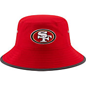 New Era Men's San Francisco 49ers 2017 Training Camp Red Bucket Hat