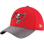 New Era Men's Tampa Bay Buccaneers Sideline 2016 39Thirty On-Field Flex Hat