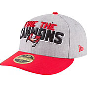 New Era Men's Tampa Bay Buccaneers 2018 NFL Draft 59Fifty Fitted Grey Hat