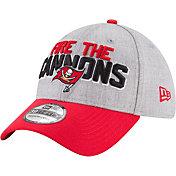 New Era Men's Tampa Bay Buccaneers 2018 NFL Draft 39Thirty Stretch Fit Grey Hat