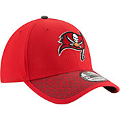 New Era Men's Tampa Bay Buccaneers Sideline 2017 On-Field 39Thirty Stretch Fit Hat