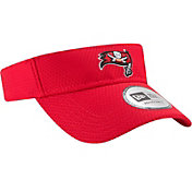 New Era Men's Tampa Bay Buccaneers 2017 Training Camp Red Adjustable Visor