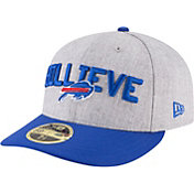 New Era Men's Buffalo Bills 2018 NFL Draft 59Fifty Fitted Grey Hat