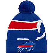 New Era Men's Buffalo Bills Logo Whiz Cuffed Knit Hat