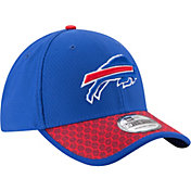 New Era Men's Buffalo Bills Sideline 2017 On-Field 39Thirty Flex Hat