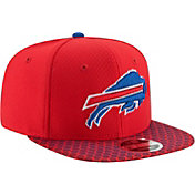 New Era Men's Buffalo Bills Sideline 2017 On-Field 9Fifty Snapback Adjustable Hat