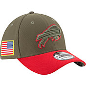 New Era Men's Buffalo Bills Salute to Service 2017 39Thirty Stretch Fit Hat