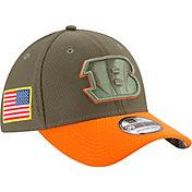 New Era Men's Cincinnati Bengals Salute to Service 2017 39Thirty Stretch Fit Hat