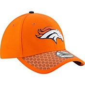 New Era Men's Denver Broncos Sideline 2017 On-Field 39Thirty Flex Hat