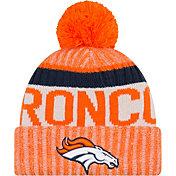 New Era Men's Denver Broncos Sideline 2017 Sport Knit