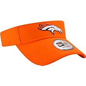New Era Men's Denver Broncos 2017 Training Camp Navy Adjustable Visor
