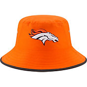 New Era Men's Denver Broncos 2017 Training Camp Orange Bucket Hat