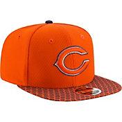 New Era Men's Chicago Bears Sideline 2017 On-Field 9Fifty Snapback Adjustable Hat