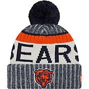 New Era Men's Chicago Bears Sideline 2017 Throwback Sport Knit
