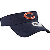 New Era Men's Chicago Bears 2017 Training Camp Navy Adjustable Visor