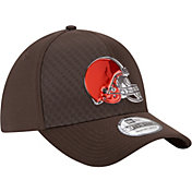 New Era Men's Cleveland Browns Color Rush 2017 On-Field 39Thirty Stretch Fit Hat