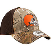 New Era Men's Cleveland Browns Real Tree Neo 39Thirty Camouflage Stretch Fit Hat