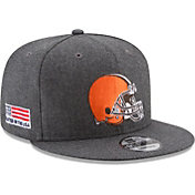 New Era Men's Cleveland Browns Crafted in the USA Grey 9Fifty Adjustable Hat