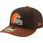 New Era Men's Cleveland Browns Sideline 2017 On-Field 59Fifty Fitted Hat