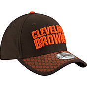 New Era Men's Cleveland Browns Sideline 2017 On-Field 39Thirty Stretch Fit Hat