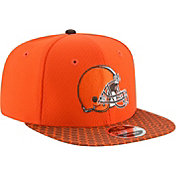 New Era Men's Cleveland Browns Sideline 2017 On-Field 9Fifty Snapback Adjustable Hat