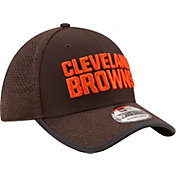 New Era Men's Cleveland Browns 2017 Training Camp 39Thirty Brown Flex Hat