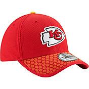 New Era Men's Kansas City Chiefs Sideline 2017 On-Field 39Thirty Flex Hat
