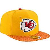 New Era Men's Kansas City Chiefs Sideline 2017 On-Field 9Fifty Snapback Adjustable Hat