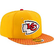 New Era Men's Kansas City Chiefs Sideline 2017 On-Field 9Fifty Snapback Adjustable Hat