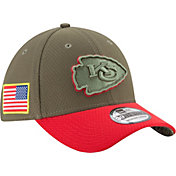 New Era Men's Kansas City Chiefs Salute to Service 2017 39Thirty Stretch Fit Hat