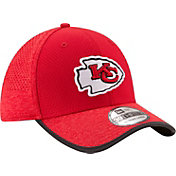 New Era Men's Kansas City Chiefs 2017 Training Camp 39Thirty Red Stretch Fit Hat