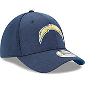 New Era Men's Los Angeles Chargers Shadow 39Thirty Stretch Fit Hat