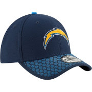 New Era Men's Los Angeles Chargers Sideline 2017 On-Field 39Thirty Stretch Fit Hat
