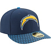 New Era Men's Los Angeles Chargers Sideline 2017 On-Field 59Fifty Fitted Hat