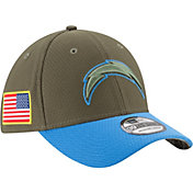 New Era Men's Los Angeles Chargers Salute to Service 2017 39Thirty Stretch Fit Hat