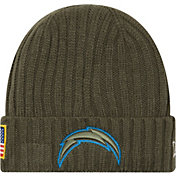 New Era Men's Los Angeles Chargers Salute to Service 2017 Knit Hat