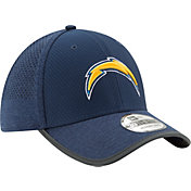 New Era Men's Los Angeles Chargers 2017 Training Camp 39Thirty Navy Stretch Fit Hat