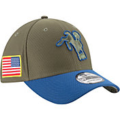 New Era Men's Indianapolis Colts Throwback Salute to Service 2017 39Thirty Stretch Fit Hat