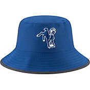 New Era Men's Indianapolis Colts 2017 Training Camp Blue Bucket Hat