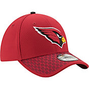 New Era Men's Arizona Cardinals Sideline 2017 On-Field 39Thirty Stretch Fit Hat
