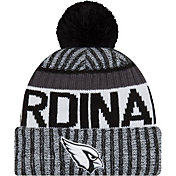New Era Men's Arizona Cardinals Sideline 2017 White Sport Knit