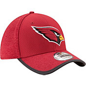 New Era Men's Arizona Cardinals 2017 Training Camp 39Thirty Red Stretch Fit Hat