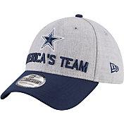 New Era Men's Dallas Cowboys 2018 NFL Draft 39Thirty Stretch Fit Grey Hat
