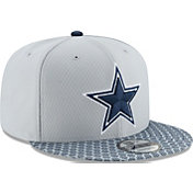 New Era Men's Dallas Cowboys Sideline 2017 On-Field 9Fifty Snapback Adjustable Hat