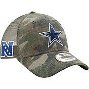 New Era Men's Dallas Cowboys Trucker Duel Camouflage 9Forty Adjustable Hat