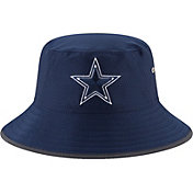 New Era Men's Dallas Cowboys 2017 Training Camp Navy Bucket Hat