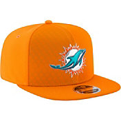 New Era Men's Miami Dolphins Color Rush 2017 On-Field 9Fifty Snapback Adjustable Hat