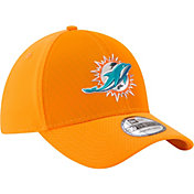 New Era Men's Miami Dolphins Color Rush 2017 On-Field 39Thirty Stretch Fit Hat
