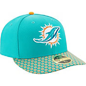 New Era Men's Miami Dolphins Sideline 2017 On-Field 59Fifty Fitted Hat