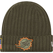 New Era Men's Miami Dolphins Salute to Service 2017 Knit Hat